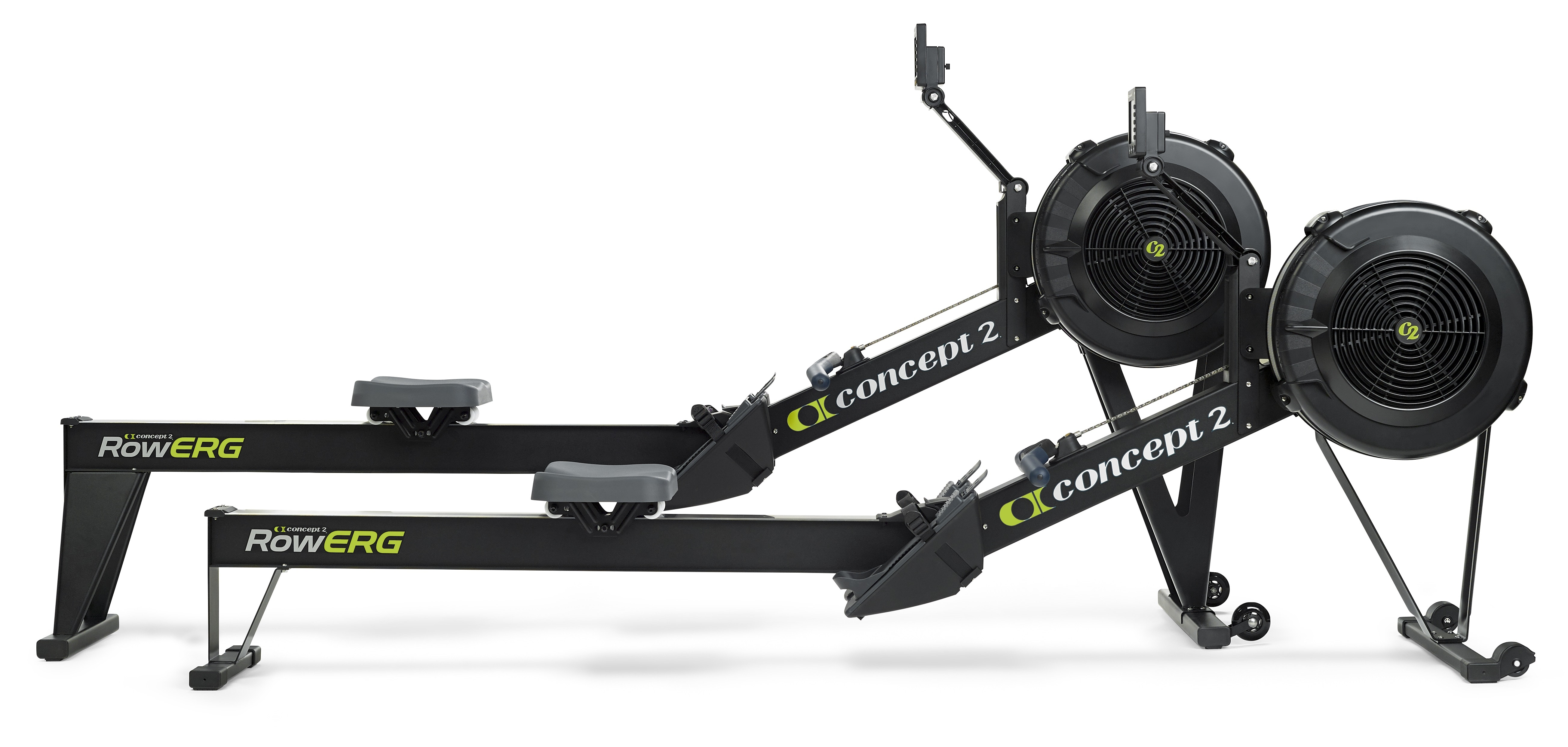 Concept2 RowErgs side-by-side